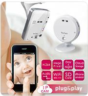 camere IP plug&play