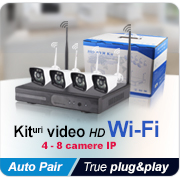 Kituri video HD WiFi