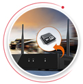 NVR cu router incorporat