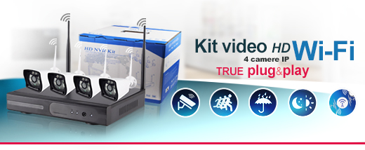 kit video hd wifi